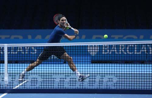 Federer nhận định về các đối thủ ở World Tour Finals - 1