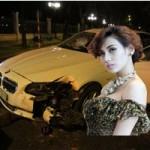 Thời trang - Cận cảnh chiếc xe móp méo của Hoàng Yến
