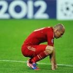 Bóng đá - HOT: Robben lỡ trận gặp Viktoria Plzen