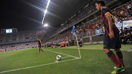 """Barca """"chấp"""" đối thủ những quả phạt góc - 1"""