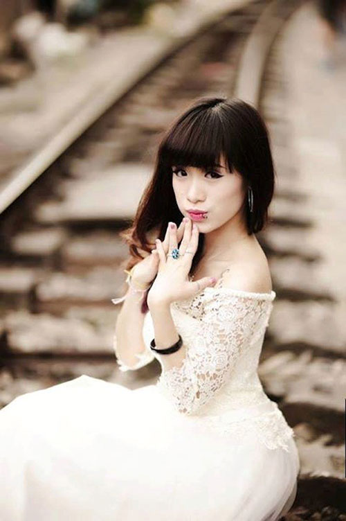 Cô gái Việt với 5 điểm xỏ khuyên táo bạo - 1