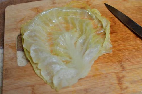Bắp cải cuộn cơm nóng hổi - 5