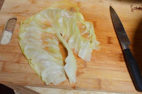Bắp cải cuộn cơm nóng hổi - 6
