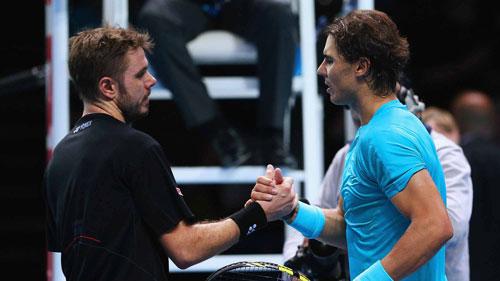 Nadal bị Wawrinka tố chơi xấu - 1