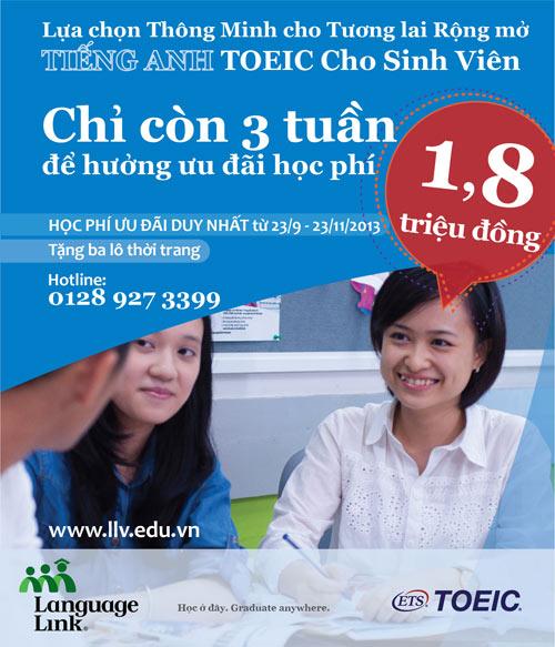 Tiếng Anh TOEIC cho sinh viên - Lợi thế khi tuyển dụng - 1