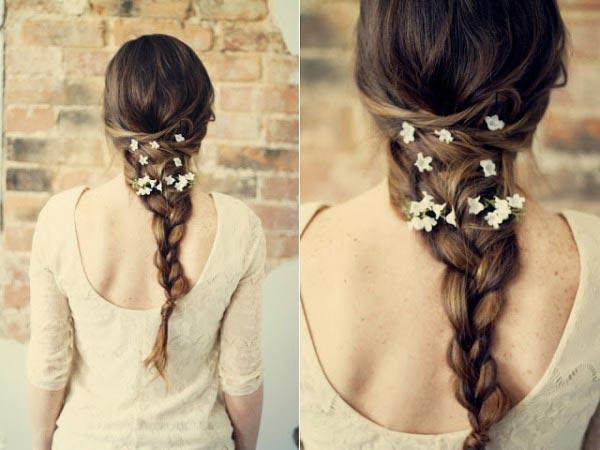 Nữ tính với kiểu tóc ngang lưng - 1