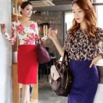 Thời trang - Khoe đường cong với chân váy bút chì