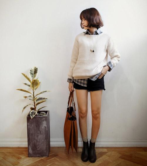 Phối sơ mi và áo len theo cách của bạn! - 15