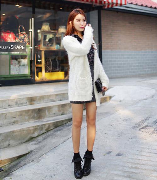 Bí kíp chống đơn điệu cho áo khoác mùa đông - 16
