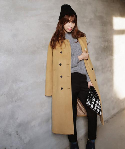 Bí kíp chống đơn điệu cho áo khoác mùa đông - 6