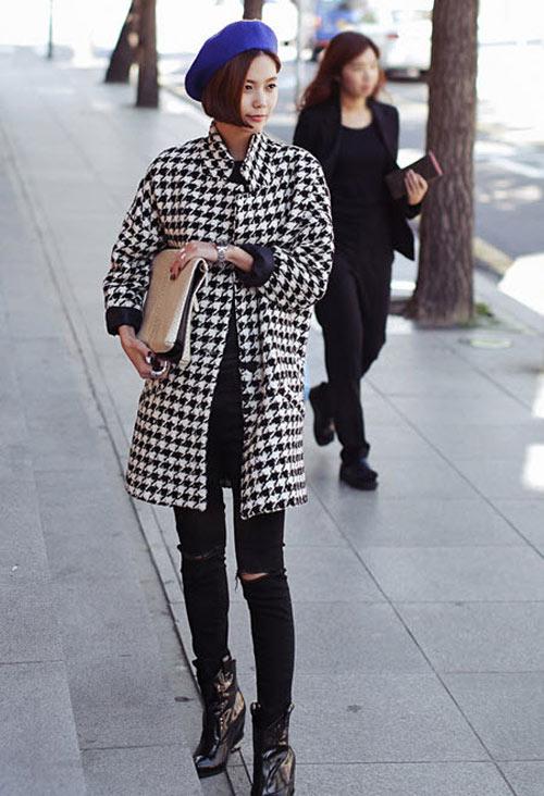 Bí kíp chống đơn điệu cho áo khoác mùa đông - 11