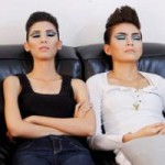Thời trang - Nam nữ VNTM ngủ vạ vật khi make-up