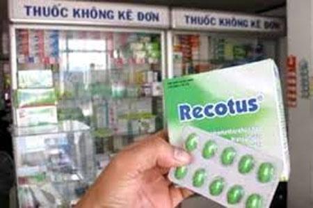 Lạm dụng thuốc ho Recotus có thể tử vong - 1