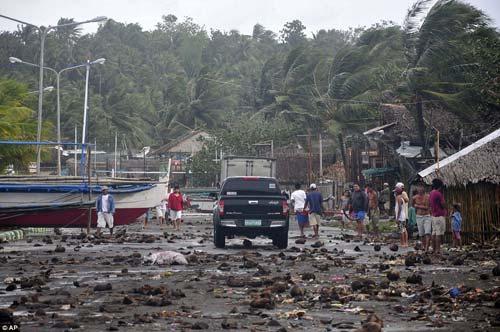 Cận cảnh hành trình chết chóc của bão thế kỷ Haiyan - 2