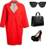 Thời trang - Mọi cô nàng đều cần một chiếc áo khoác đỏ