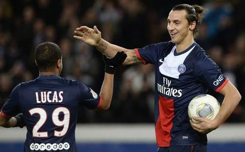 PSG - Nice: Ibrahimovic lập hat-trick - 1