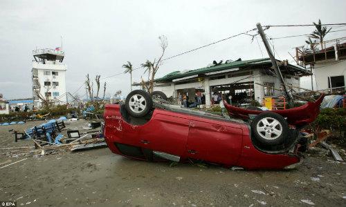 Tang thương vì siêu bão thế kỷ tại Philippines - 14