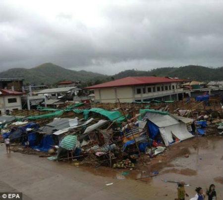 Tang thương vì siêu bão thế kỷ tại Philippines - 15