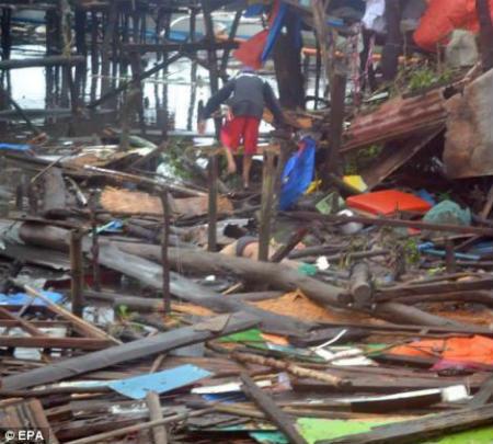 Tang thương vì siêu bão thế kỷ tại Philippines - 16