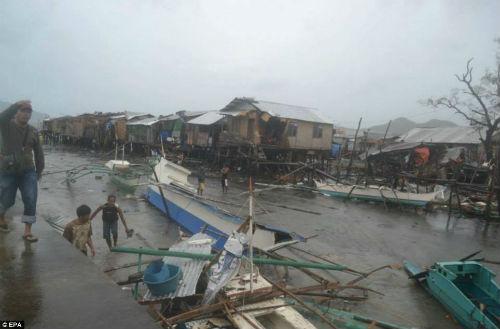 Tang thương vì siêu bão thế kỷ tại Philippines - 3