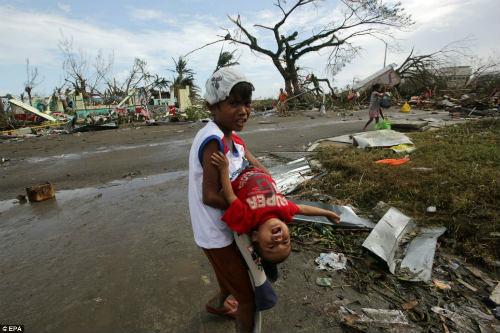 Tang thương vì siêu bão thế kỷ tại Philippines - 4
