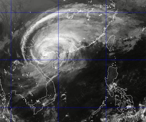 Bão Haiyan đã đổ bộ vào Hải Phòng – Quảng Ninh - 2