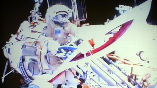Màn rước đuốc Olympic kỳ lạ trên vũ trụ - 1