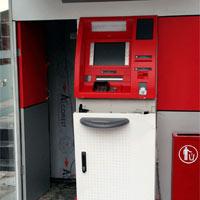 Cạy phá cây ATM, trộm tiền giữa đêm mưa bão