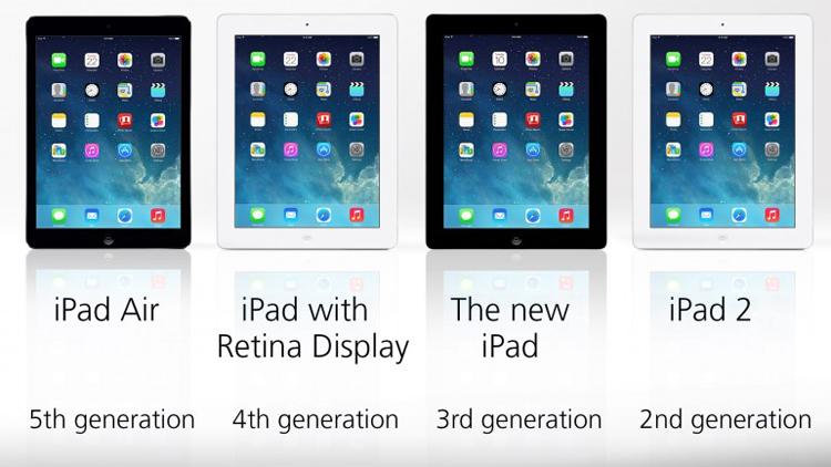 Thực tế màn hình của iPad Air có nhiều cải tiến so với màn hình của iPad 4 hay iPad 3 như độ sáng và độ tương phản cao hơn. Màn hình IGZO của iPad Air cũng tăng cường hiệu quả sử dụng pin của iPad Air lên 57% so với các thế hệ trước. Tuy nhiên, điều này dường như chưa đủ để iPad Air giành chiến thắng.