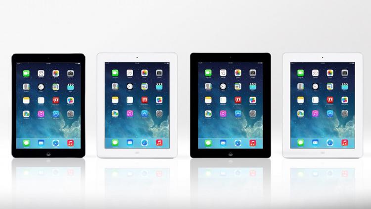 """Chiếc máy tính bảng iPad Air mới của Apple có thiết kế mỏng, nhẹ cùng hiệu suất mạnh mẽ hơn so với  """" những bậc tiền bối """"  và đã được bày bán tại hơn 30 quốc gia từ ngày 1/11."""