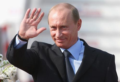 Tổng thống Nga Putin đã đến Hà Nội - 1