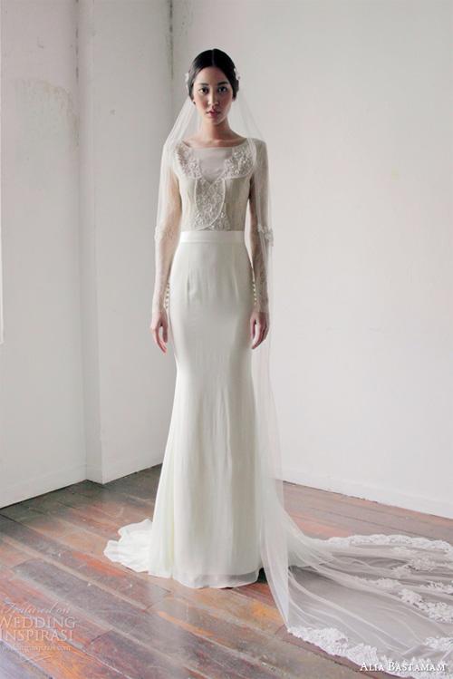 Váy cưới dài tay dành riêng cho mùa lạnh - 2