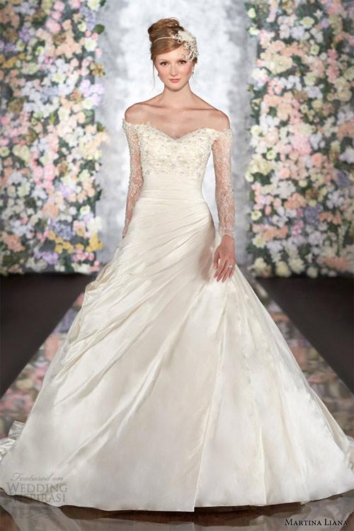 Váy cưới dài tay dành riêng cho mùa lạnh - 15