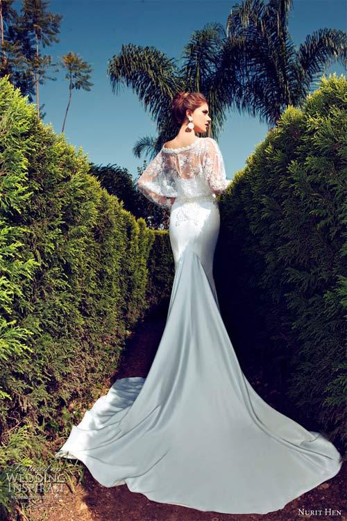 Váy cưới dài tay dành riêng cho mùa lạnh - 10