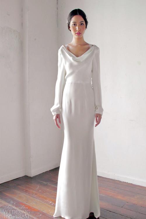 Váy cưới dài tay dành riêng cho mùa lạnh - 3