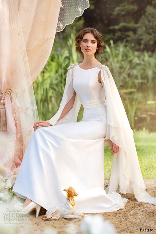 Váy cưới dài tay dành riêng cho mùa lạnh - 9
