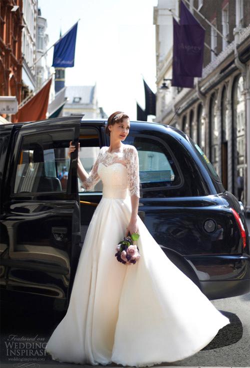 Váy cưới dài tay dành riêng cho mùa lạnh - 17