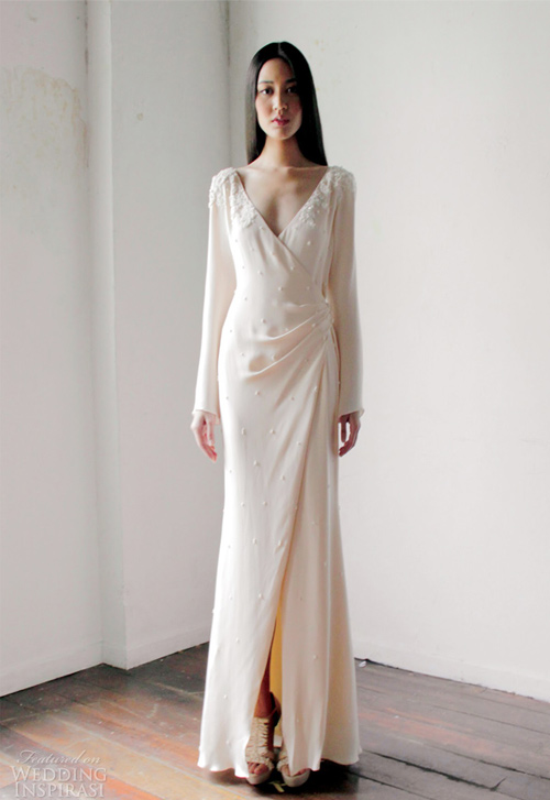 Váy cưới dài tay dành riêng cho mùa lạnh - 4