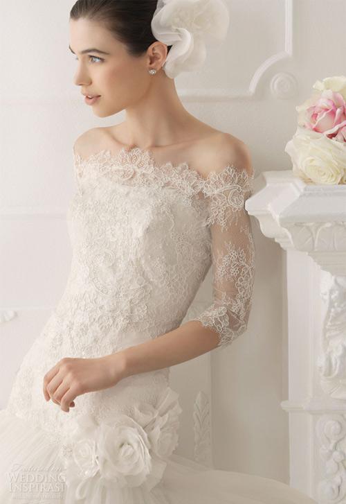 Váy cưới dài tay dành riêng cho mùa lạnh - 11