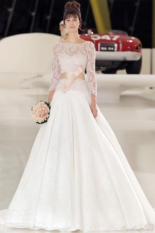 Váy cưới dài tay dành riêng cho mùa lạnh - 12