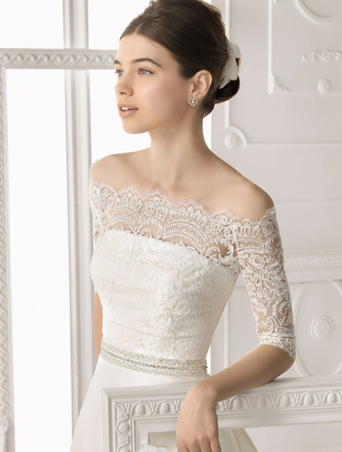 Váy cưới dài tay dành riêng cho mùa lạnh - 14