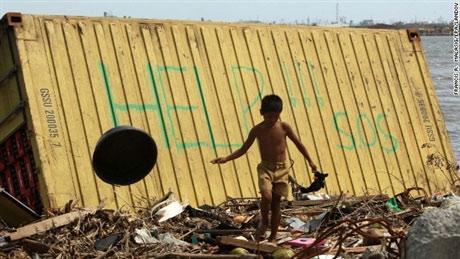 Trẻ em Philippines và nỗi ám ảnh siêu bão Haiyan - 3