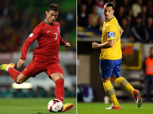 CR7 vs Ibra: Chỉ có bóng đá là thua cuộc - 1