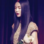 Thời trang - Người đẹp lai dịu dàng suối tóc mềm