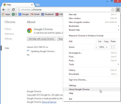 Google Chrome 32 Beta: Nhận diện tác vụ trong từng thẻ - 2