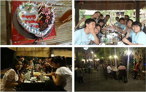 Địa điểm tổ chức sinh nhật liên hoan tất niên - 1