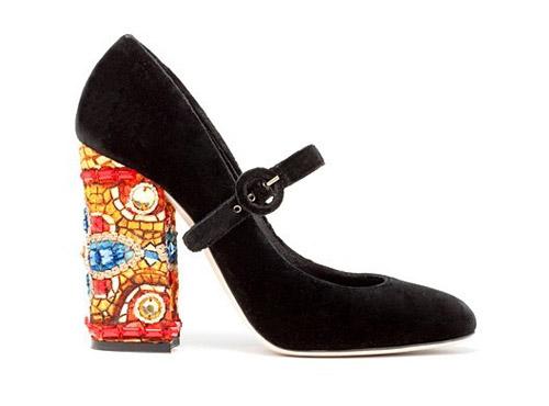 Đôi chân thêm sang với giầy nhung - 8