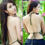 Bạn trẻ - Cuộc sống - Hot girl Việt khoe lưng ong trắng nõn