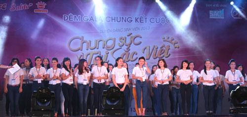 Đêm Gala hoành tráng của cuộc thi tài sắc Việt - 7