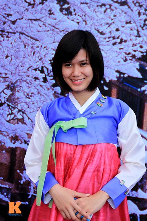 Thiếu nữ Việt điệu đà diện hanbok - 6